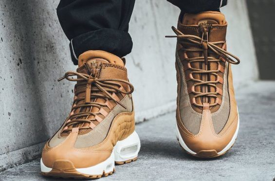 wholesale dealer 495e8 5c2eb ... france look for the nike air max 95 sneakerboot flax now 95f91 5e4a0 ...